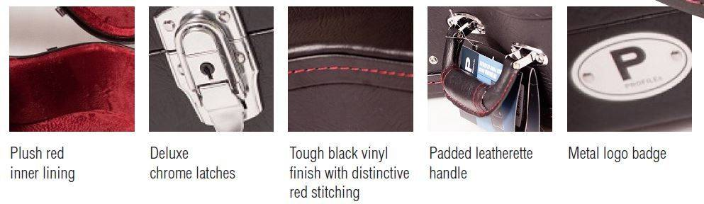 Profile PRC300-E Rectangular Hardshell Electric Guitar Case Product Image 2