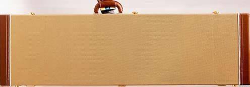 Profile PRC300TW-B Rectangular Tweed Hardshell Base Guitar Case Product Image 3