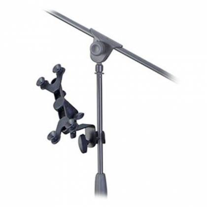 Profile PTH100 Adjustable Tablet and Phone Holder for Mic stands and Instrument Stands pth-100 Product Image 3