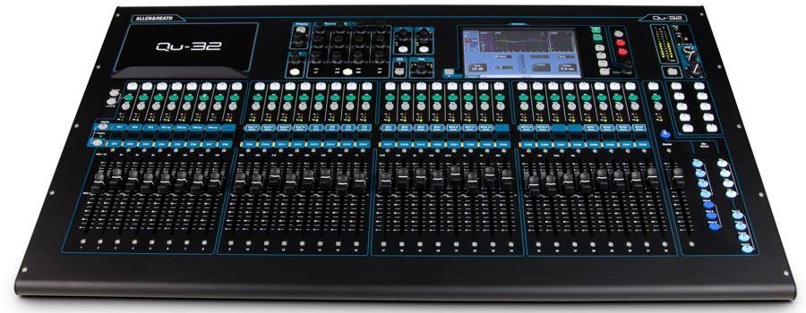 Allen & Heath QU-32 Digital Mixer with Responsive Touchscreen qu-32 Product Image 4