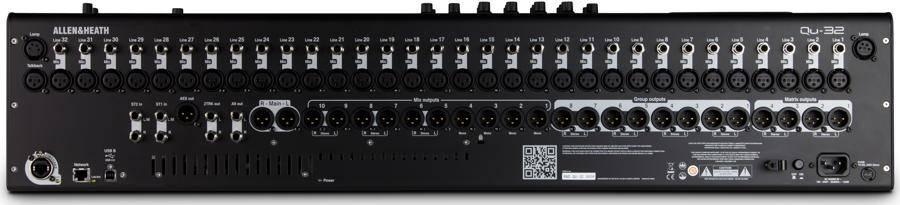 Allen & Heath QU-32 Digital Mixer with Responsive Touchscreen qu-32 Product Image 6