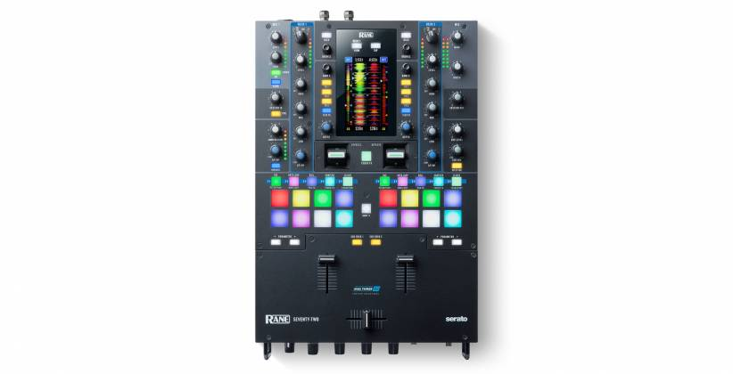 Rane DJ SEVENTYTWO Battle-Ready 2-channel DJ Mixer with Touchscreen and Serato DJ  Product Image 3