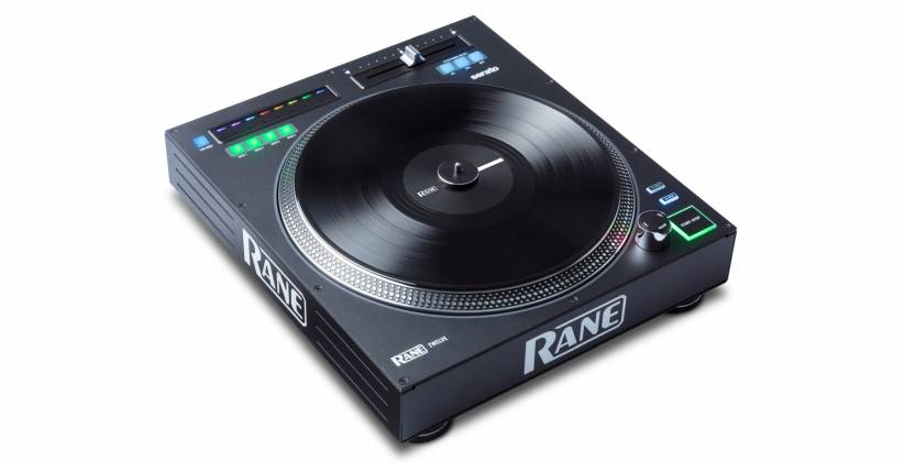 "Rane DJ TWELVE DJ MIDI Controller with 12"" Motorized Platter Product Image 2"
