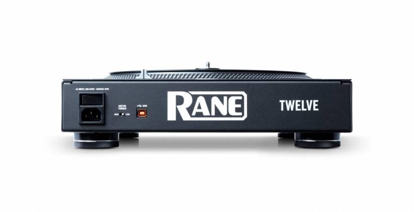 "Rane DJ TWELVE DJ MIDI Controller with 12"" Motorized Platter Product Image 5"