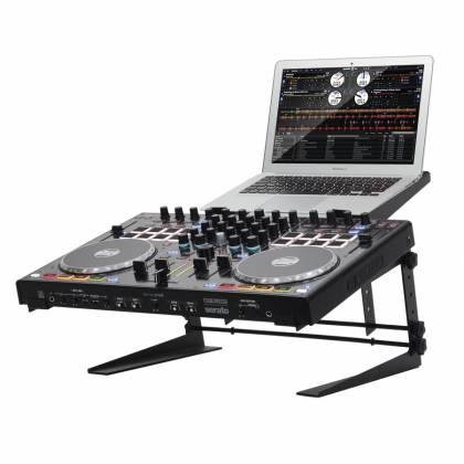 Reloop Controller-Station Adjustable Laptop and DJ Controller Stand controller-station Product Image 2