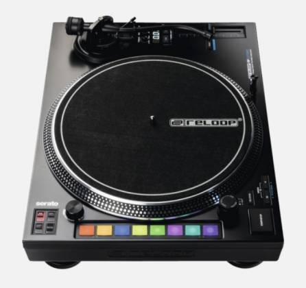 Reloop RP-8000-MK2 Upper Torque Hybrid Turntable with MIDI Feature Section Product Image 11