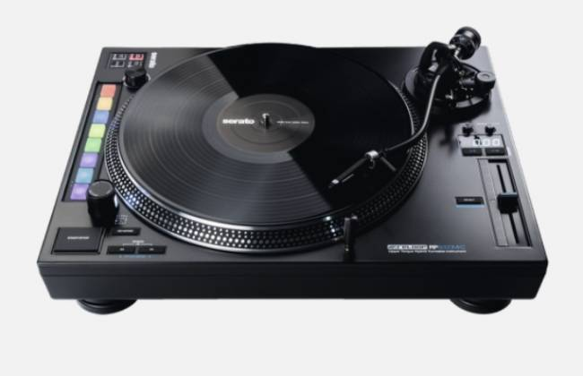 Reloop RP-8000-MK2 Upper Torque Hybrid Turntable with MIDI Feature Section Product Image 13