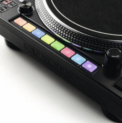 Reloop RP-8000-MK2 Upper Torque Hybrid Turntable with MIDI Feature Section Product Image 14