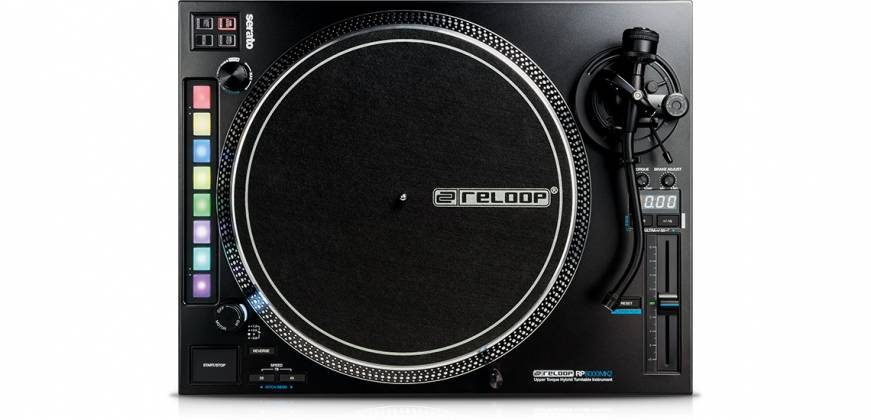 Reloop RP-8000-MK2 Upper Torque Hybrid Turntable with MIDI Feature Section Product Image 3