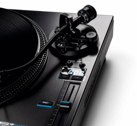 Reloop RP-8000-MK2 Upper Torque Hybrid Turntable with MIDI Feature Section Product Image 5