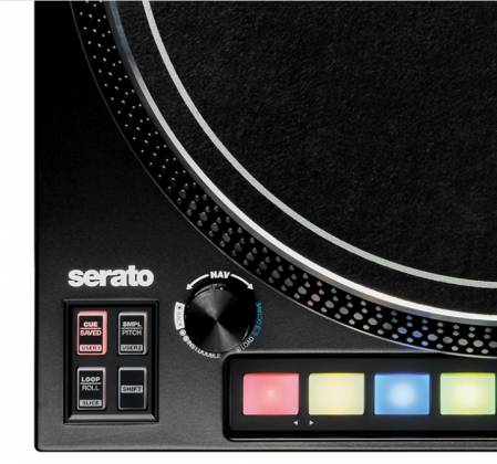 Reloop RP-8000-MK2 Upper Torque Hybrid Turntable with MIDI Feature Section Product Image 6
