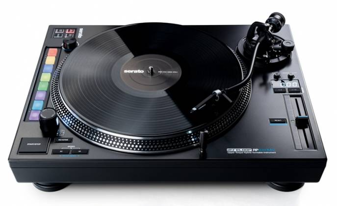 Reloop RP-8000-MK2 Upper Torque Hybrid Turntable with MIDI Feature Section Product Image 7