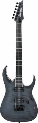 Ibanez RGAIX6FM-TGF-d RG Iron Label Series 6 String Electric Guitar in Transparent Gray Flat Finish (discontinued clearance)  (Prior Year Model) Product Image 2