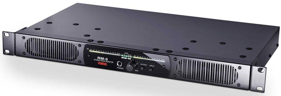 Fostex RM-3 Rack Mount Stereo Powered Monitor System Product Image 4