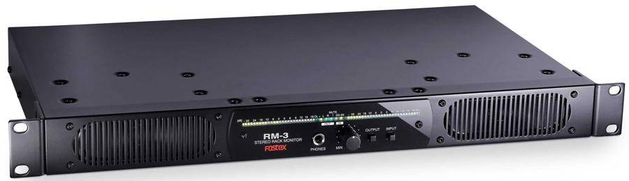 Fostex RM-3 Rack Mount Stereo Powered Monitor System Product Image 5