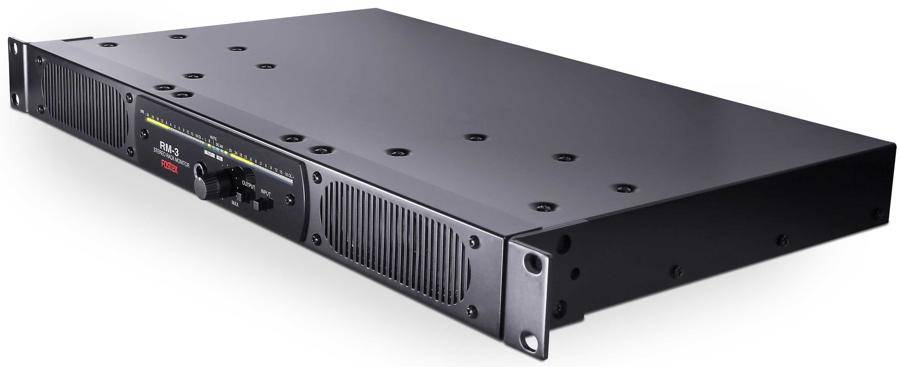 Fostex RM-3 Rack Mount Stereo Powered Monitor System Product Image 6