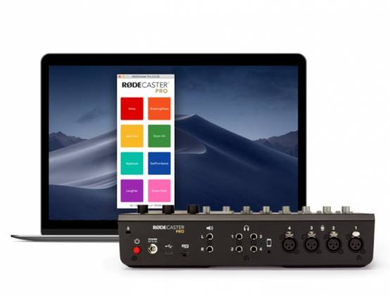 Rode RodeCaster Pro Integrated Podcast Production Studio rode-caster-pro Product Image 10