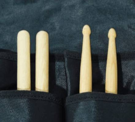 RockBag RB22696B Travelling Drumstick Bag-Discontinued Clearance Product Image 5