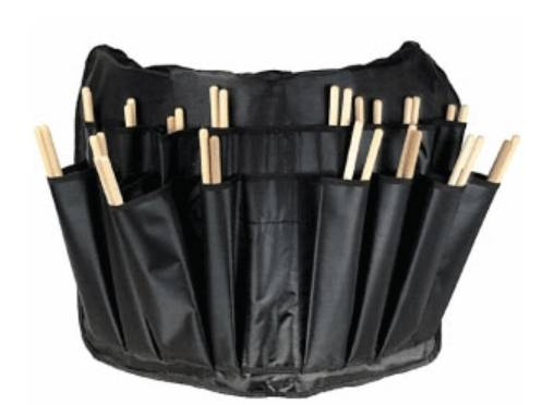 RockBag RB22696B Travelling Drumstick Bag-Discontinued Clearance Product Image 7