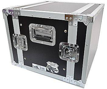 """Road Ready RR8UED 8U Deluxe Effect Rack Case - 14"""" body depth Product Image 3"""