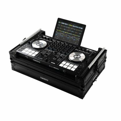 Reloop Mixon 4 MK2 Case with Hand-crafted Wood and Aluminum Construction Product Image 4