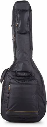RockBag RB20510B Black Deluxe Acoustic Bass Guitar Bag by Warwick (discontinued clearance) Product Image 2