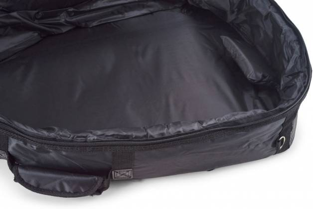 RockBag RB20510B Black Deluxe Acoustic Bass Guitar Bag by Warwick (discontinued clearance) Product Image 11