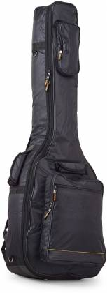 RockBag RB20510B Black Deluxe Acoustic Bass Guitar Bag by Warwick (discontinued clearance) Product Image 4