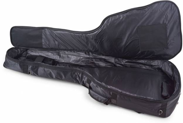RockBag RB20510B Black Deluxe Acoustic Bass Guitar Bag by Warwick (discontinued clearance) Product Image 5