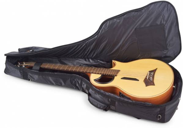 RockBag RB20510B Black Deluxe Acoustic Bass Guitar Bag by Warwick (discontinued clearance) Product Image 6