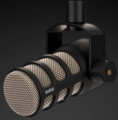 Rode Pod Mic Dynamic Cardioid XLR Mic Perfect for Podcasting pod-mic Product Image 4