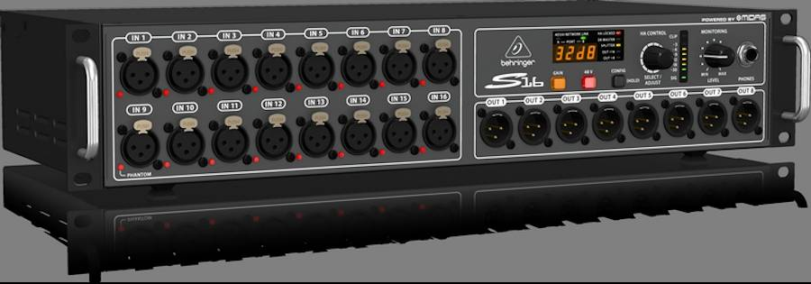 Behringer S16 16 XLR Input / 8 XLR Output Digital Snake Product Image 3