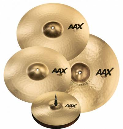 Sabian 25005XCPB AAX Series Promotional Cymbal Set Product Image 2