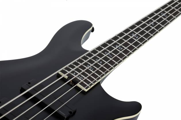 Schecter 1395-SHC SLS Elite-5 Evil Twin RH 5-String Electric Bass-Satin Black  Product Image 8