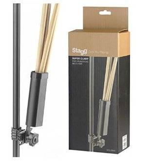 Stagg SCLDSH-2 Drum Stick Holder With Clamp 23667 Product Image 2