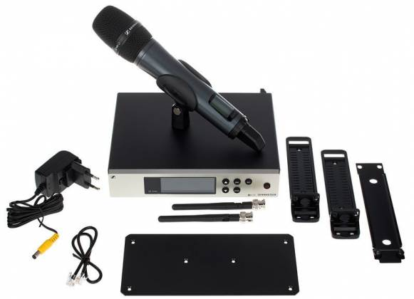 Sennheiser EW100-G 4 945 S A 1 Wireless Handheld Microphone System A1 (470 - 516 MHz) Product Image 17