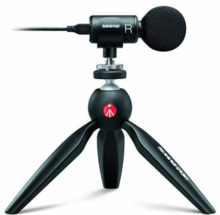 Shure MV88+ Video Kit Votiv Digital Stereo Condenser Microphone and Accessories for Smartphones Product Image 11