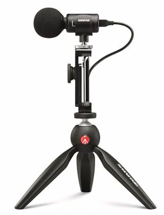 Shure MV88+ Video Kit Votiv Digital Stereo Condenser Microphone and Accessories for Smartphones Product Image 8