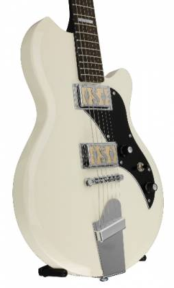 Supro 2020AW Island Series Westbury 6 String RH Electric Guitar in Antique White-Discontinued Clearance Product Image 5