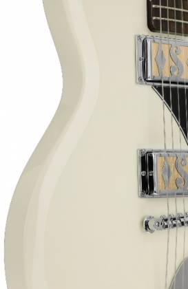 Supro 2020AW Island Series Westbury 6 String RH Electric Guitar in Antique White-Discontinued Clearance Product Image 6