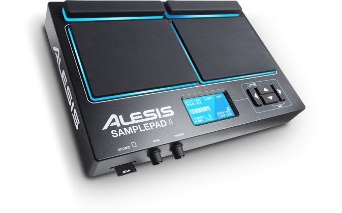 Alesis SamplePad 4 4-Pad Percussion and Sample-Triggering Instrument Product Image 3