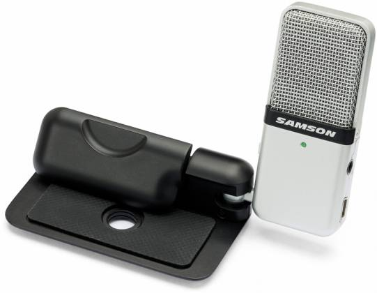 Samson GOMICB Portable USB Condenser Microphone in Black Casing Product Image 5