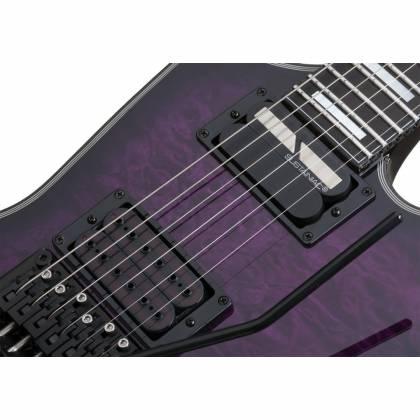 Schecter 3071-SHC FR S Special Edition 6 String RH Electric Guitar - Trans Purple Burst 3071-shc Product Image 7