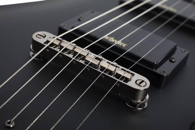 Schecter 3660-SHC Demon 6 Series 6 String RH Electric Guitar - Aged Black Satin 3660-shc Product Image 2