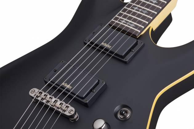 Schecter 3660-SHC Demon 6 Series 6 String RH Electric Guitar - Aged Black Satin 3660-shc Product Image 3