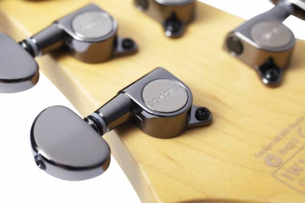 Schecter 3660-SHC Demon 6 Series 6 String RH Electric Guitar - Aged Black Satin 3660-shc Product Image 4