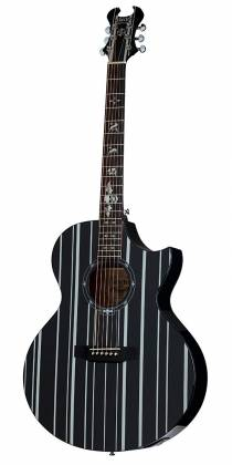 Schecter 3700-SHC Synyster Gates-AC GA SC-6 String Acoustic Guitar - Black Product Image 2