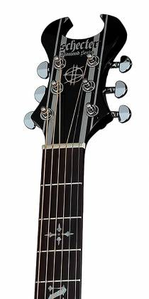 Schecter 3700-SHC Synyster Gates-AC GA SC-6 String Acoustic Guitar - Black Product Image 4