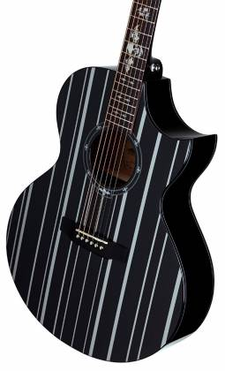 Schecter 3700-SHC Synyster Gates-AC GA SC-6 String Acoustic Guitar - Black Product Image 5