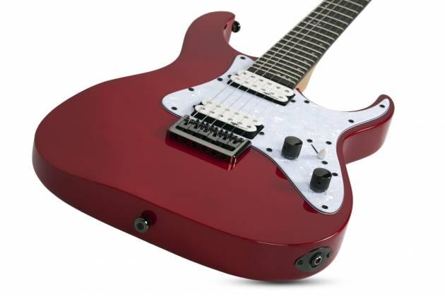 Schecter 3855-SHC Banshee 6 SGR 6 String Electric Guitar - Metallic Red  Product Image 4